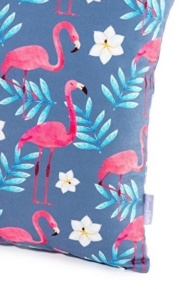 home-bath Kırlent Flamingo Renkli